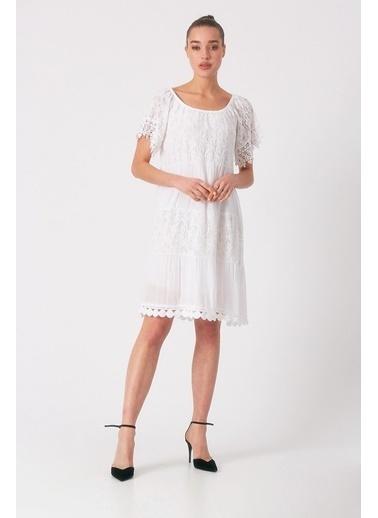 Robin Elbise Beyaz